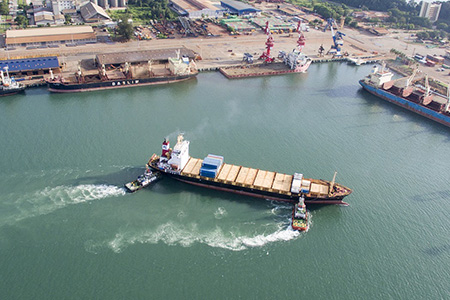 Shipyard and Port